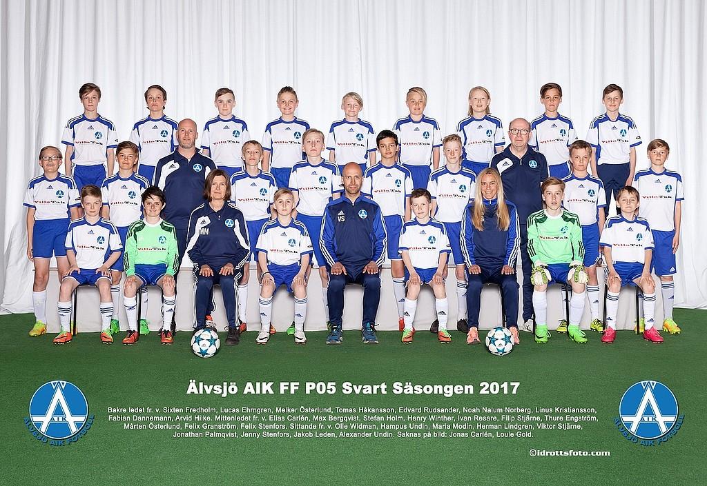 Älvsjö AIK FF - P05-Svart 2ca66ec9b985d